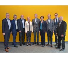 Die BDA-Kommission beim ersten Treffen