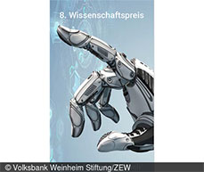 """In addition to prize money, the award also includes a research stay at ZEW Mannheim. """"Digital Economy"""""""